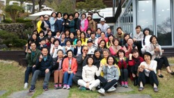 AHYMSIN Korea 2016 Retreat Group Photo