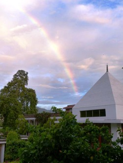 Rainbow over SRSG July 2016