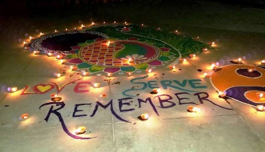 Diwali Message 'Love Serve Remember'