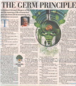 "Image of Article ""The Germ Principle"" by Swami Veda Bharati"